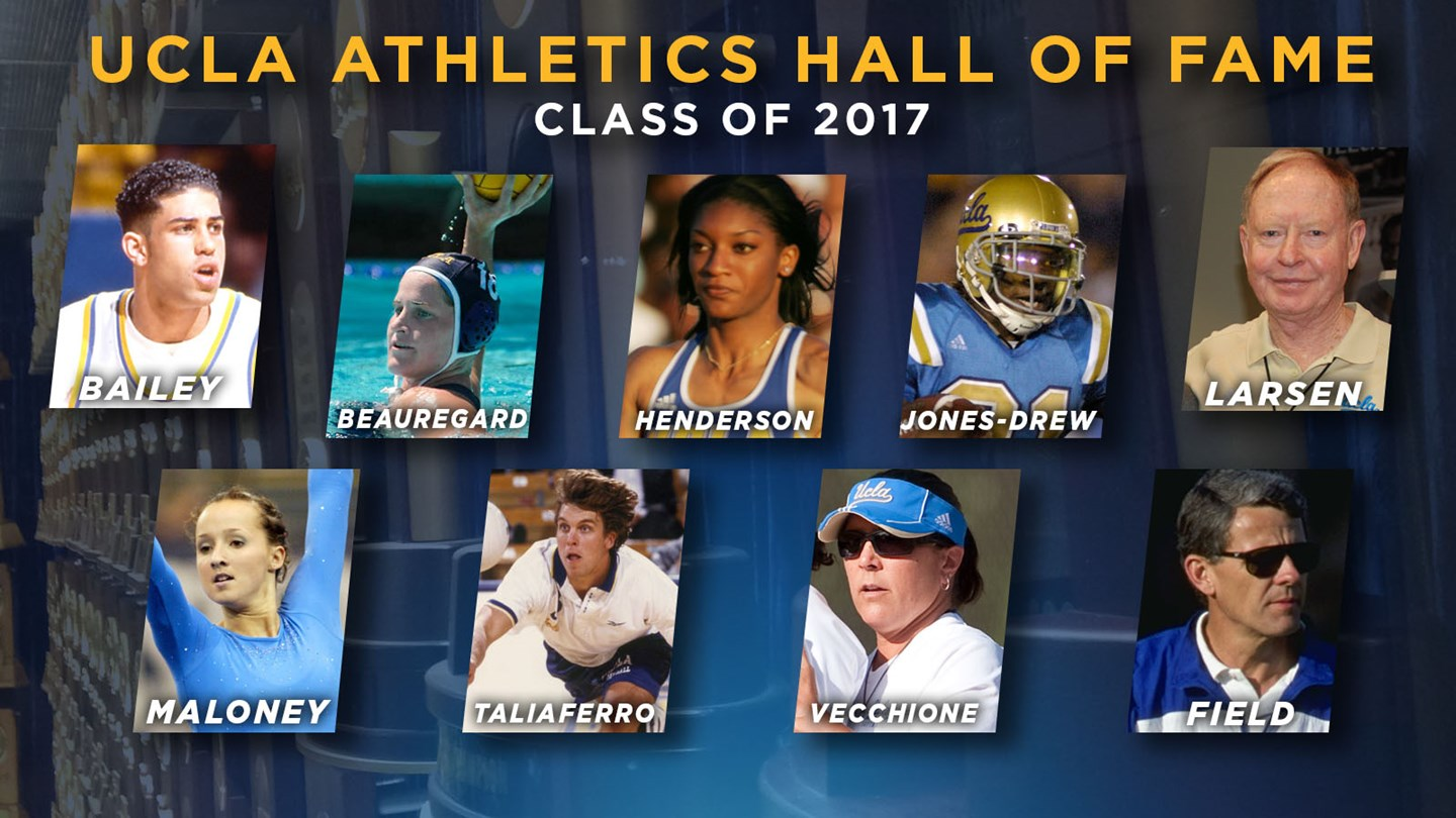UCLA Athletics Announces 2017 Hall of Fame Class